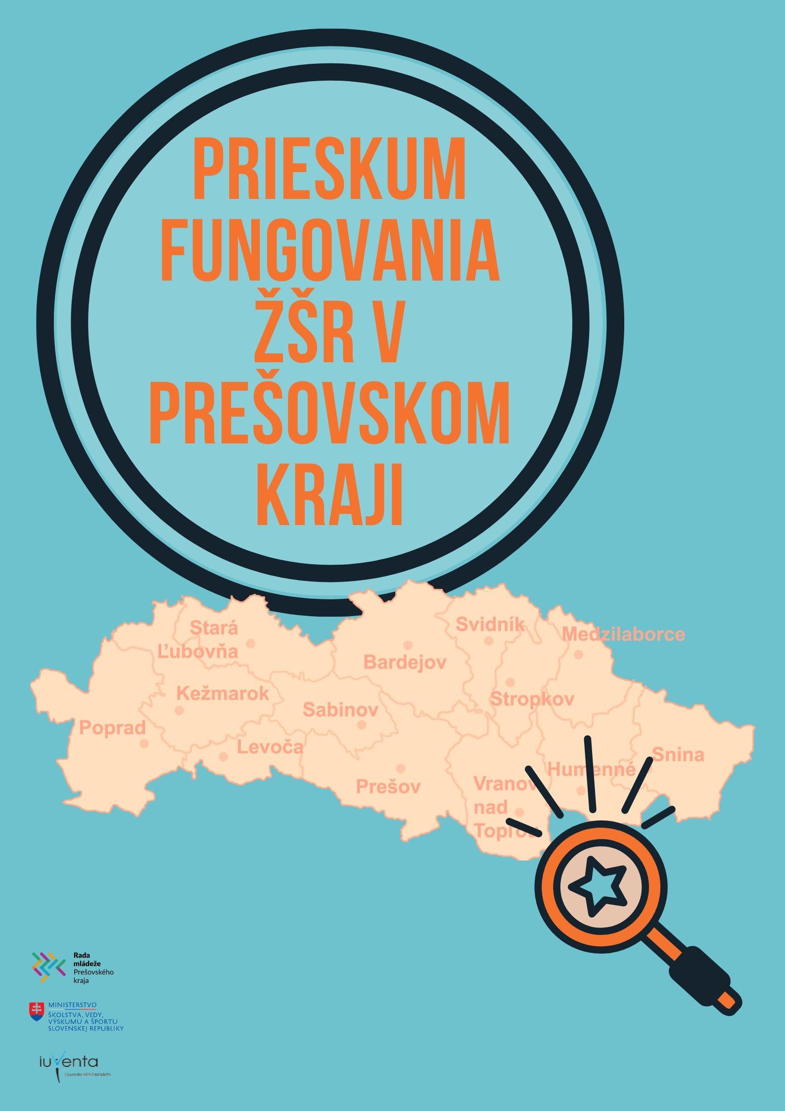 Prieskum ŽŠR v Prešovskom kraji